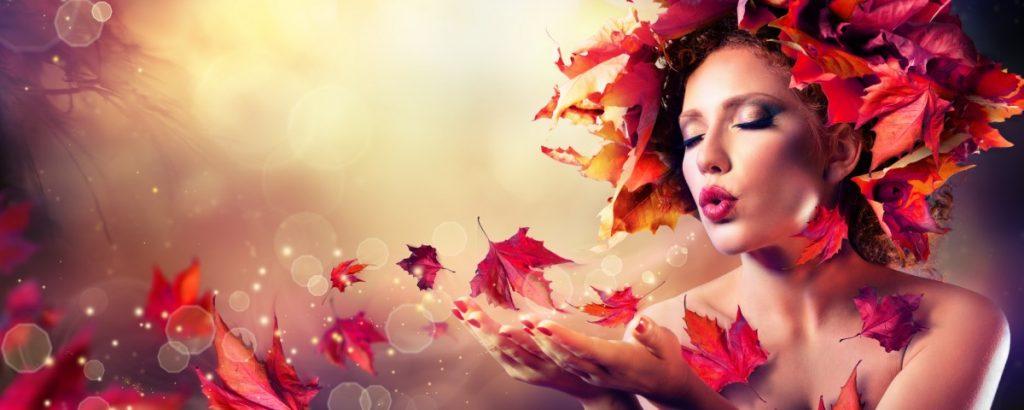 jesień - grafika artystyczna